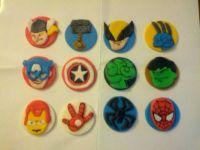 Avengers Fondant