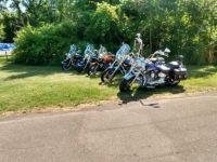 ride to Chimney Bluffs State Park