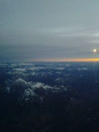 Looking out at 35,000 feet