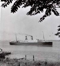 VEENDAM in New York Aug 1932