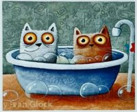 CATS IN THE BATHTUB