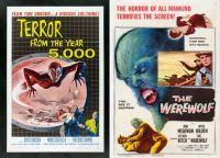 Joyce Holden ~ Terror From the Year-5000 ~ 1958 and The Werewolf ~ 1956