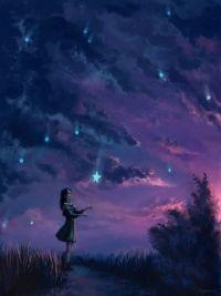 Rain of stars by Mar_ka