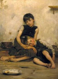 "Thomas Benjamin Kennington, ""Orphans"""