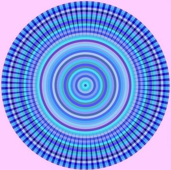 011418 Pleated Concentric Circles