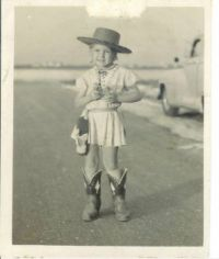 Me the cowgirl