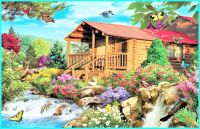 Cascading Cabin