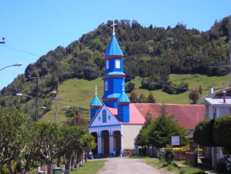 chapels and churchs (4) Chiloe island Chile