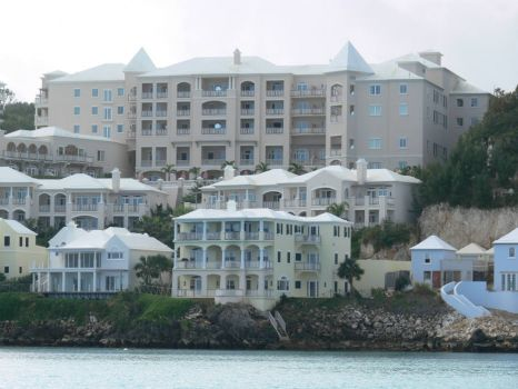 Tucker's Point hotel on old Castle Harbour site.