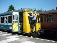 Running repairs to M55005 at Shackerstone.