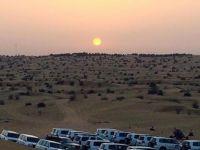 Sunset in Arabian Desert