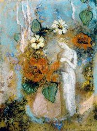 Pandora - Odilon Redon, artist