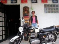 Me in Florida 2006 with my BSA