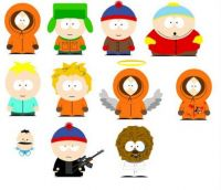 south_park_characters_by_spidey2099
