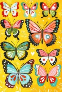 Butterfly Collection - Yellow