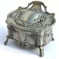 music box pz silver chest