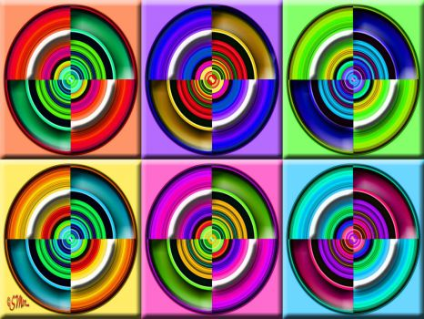 Colored/Coloured Circles.... (S)....
