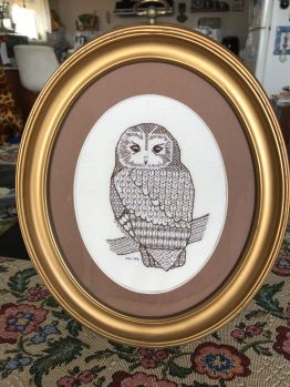 Another member of my. Parliament of Owls.