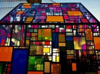 Tom Fruin - Stained Glass House, Brooklyn Park