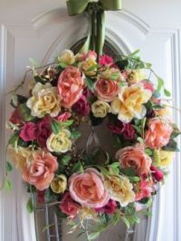 Lovely rose wreath