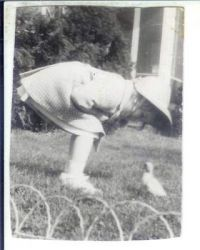 My Easter Duck - about 1945