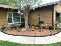 Our new and improved flowerbed