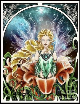 Fairy In A Lily