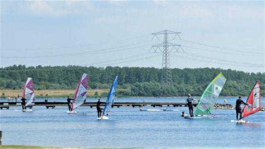 Surf school, Oostvoornse Meer