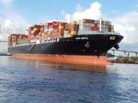 Container Ship in Savannah, Georgia
