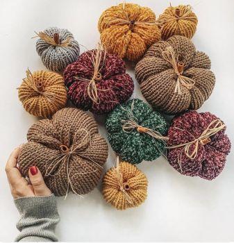 Knit Pumpkin Fun