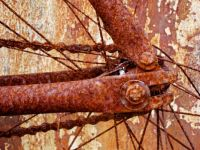 Rusted Old Bicycle