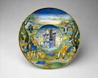 Armorial Plate: The Story of King Midas