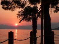 Sunset at Bardolino, Lake Garda, Italy