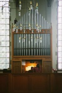 St Joseph's RC church organ, Dorking
