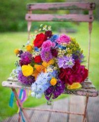 -aranž květiny