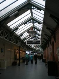 Cobh Train Station of Titanic fame