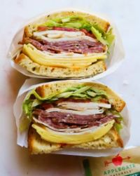 Spicy Italian Sandwich With Calabrian Chili Mayo