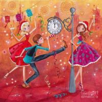 New Year Wishes by Caroline Bonne-Muller