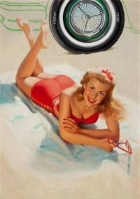 Bill Medcalf Pinup-Art