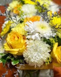 Happiness is.... A Bright Beautiful Bouquet to brighten your day.