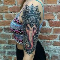 GANESHA TATTOO