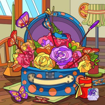 A Florist's Luggage?
