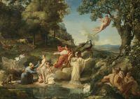 Guillaume Guillon Lethière - The Judgment of Paris