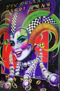 Mardi Gras Poster 1