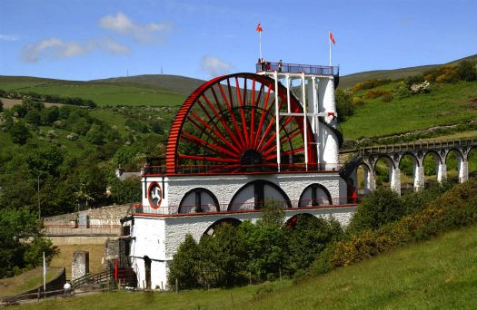Laxey Waterwheel, Isle of Man
