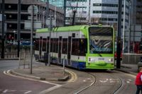 london 22-02-2014 croydon tramlink 2530 at Wellesley road 01