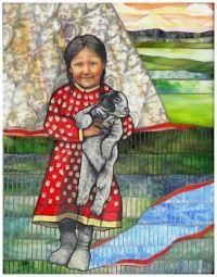 Puppy Love ~ Angela Babby (Lakota Sioux)