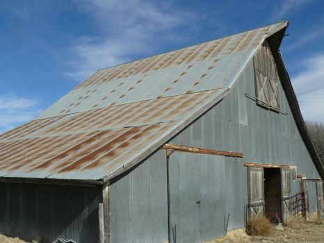 Old Barn, Nr Woodston, Kansas.