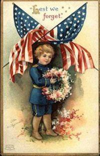 Vintage Memorial Day Card