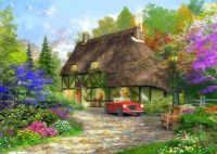 Oak wood cottage